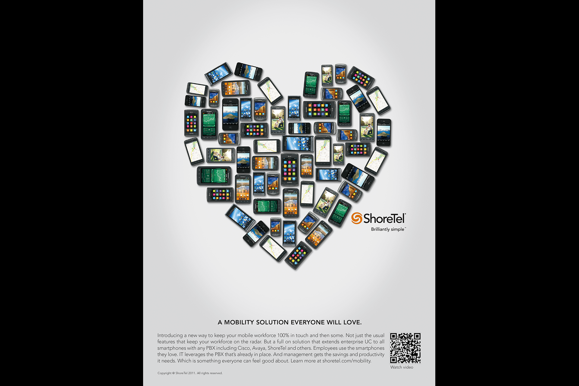 ShoreTel Heart Ad