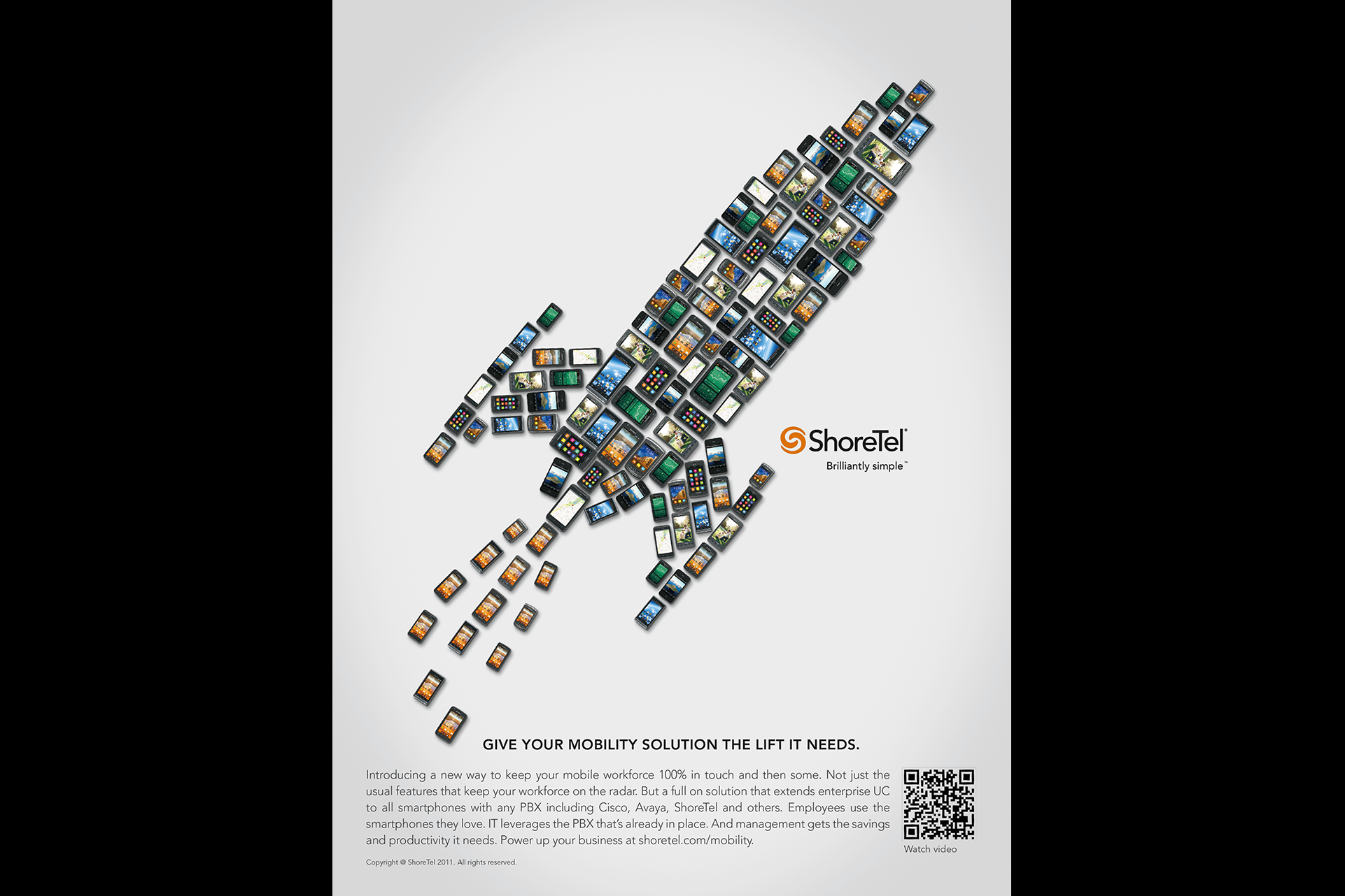 ShoreTel Rocket Ad